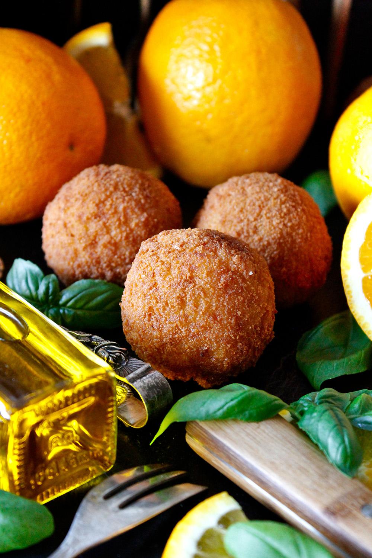 Rezept für Arancini di riso von Einmal Nachschlag, bitte!